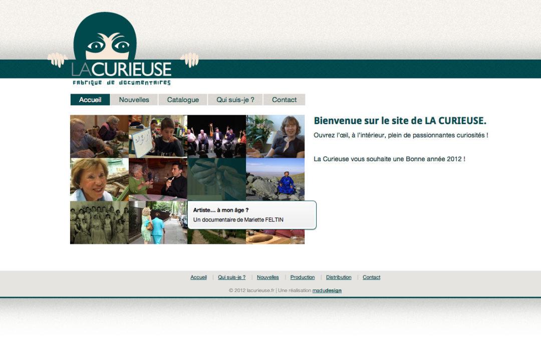 lacurieuse.fr nouveau site wordpress en ligne