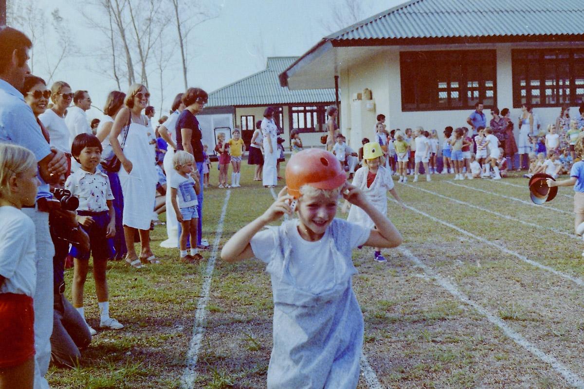 Panaga school sports day - 1976 ?