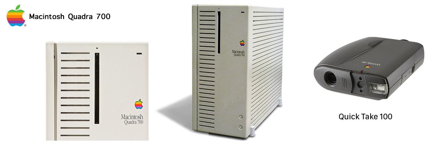 Macintosh Quadra 700 - Apple QuickTake 100