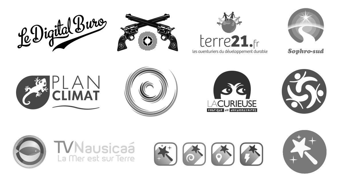 Logos and pictos