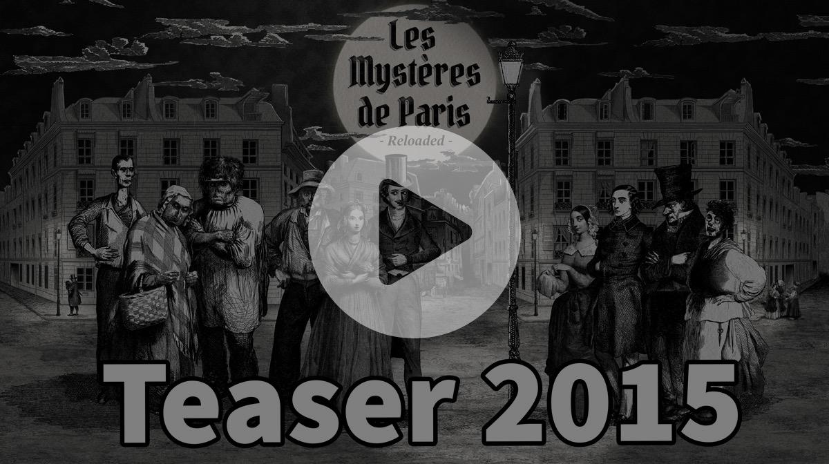 Les mystères de Paris - teaser