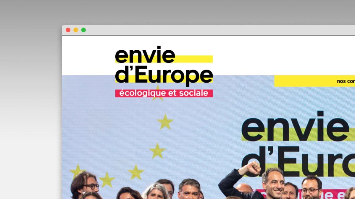 Envie d'europe